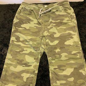 Gap kids camouflage pants